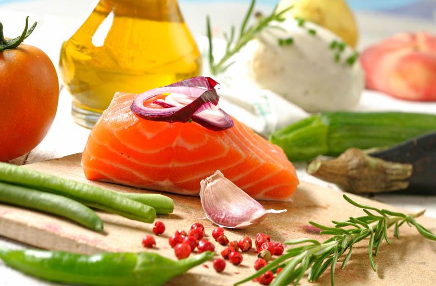 regime dissocie recette au saumon