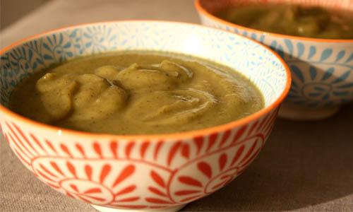 soupe d'aubergine